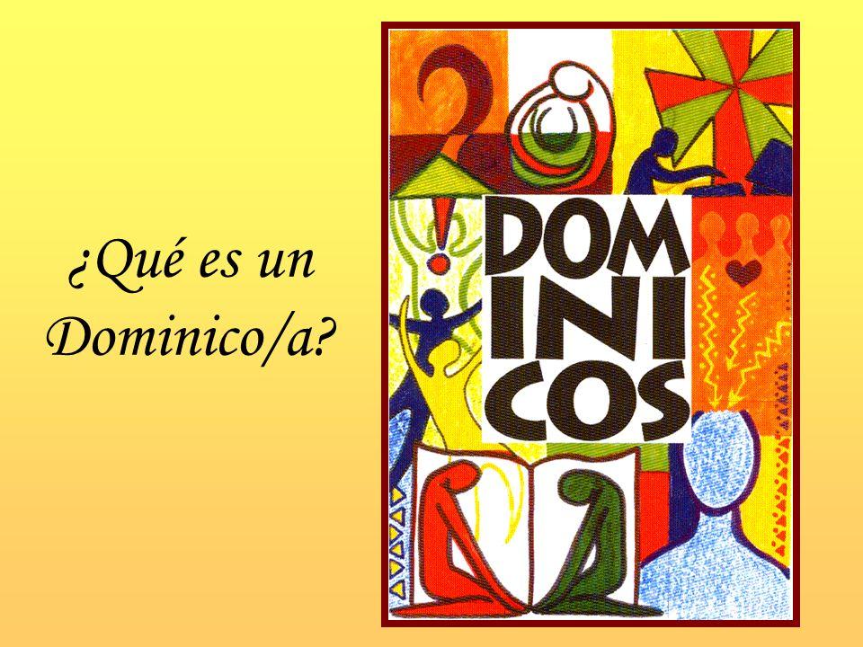¿Qué es un Dominico/a?