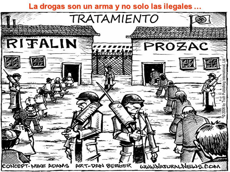 110 La drogas son un arma y no solo las ilegales …