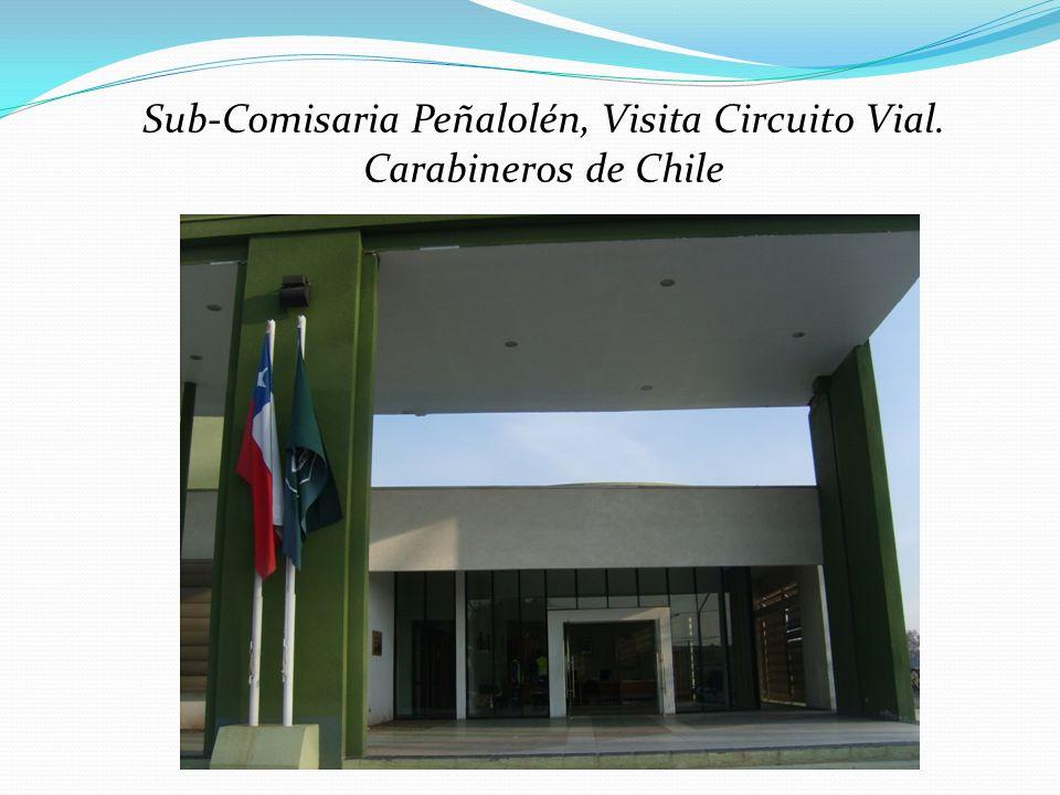 Sub-Comisaria Peñalolén, Visita Circuito Vial. Carabineros de Chile
