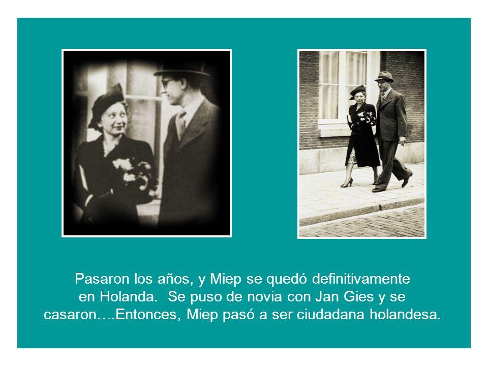 En Alemania, Otto conoció a Edith….Y en el año 1925 se casaron….
