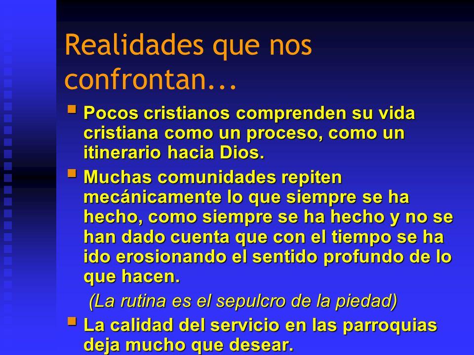 ORGANIZACIÓN AL SERVICIO DE LA COMUNIÓN Si no hay sentido de cuerpo, no hay pastoral eficaz.