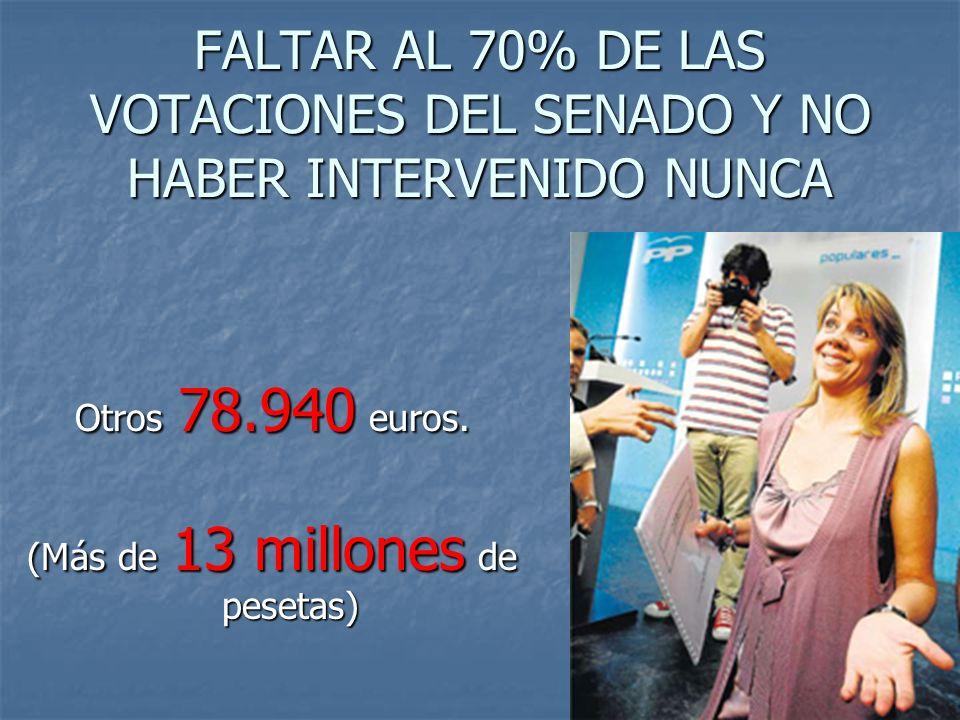 DÍA Y MEDIO A LA SEMANA EN CASTILLA-LA MANCHA 13.371 Euros de las Cortes Regionales. (Más de 2 millones de pesetas)