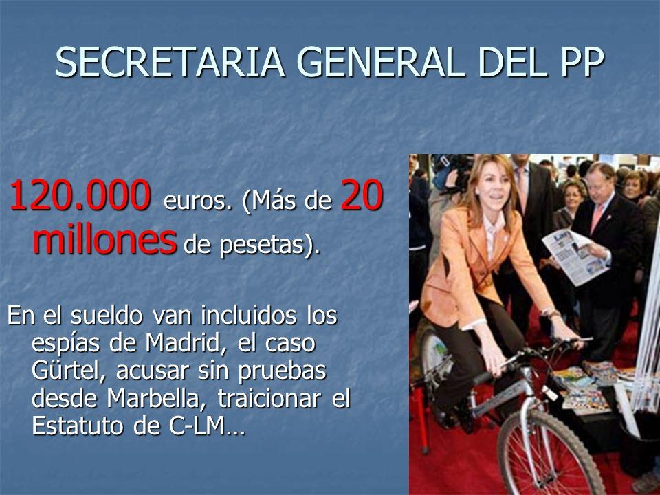 FALTAR AL 70% DE LAS VOTACIONES DEL SENADO Y NO HABER INTERVENIDO NUNCA Otros 78.940 euros. (Más de 13 millones de pesetas)