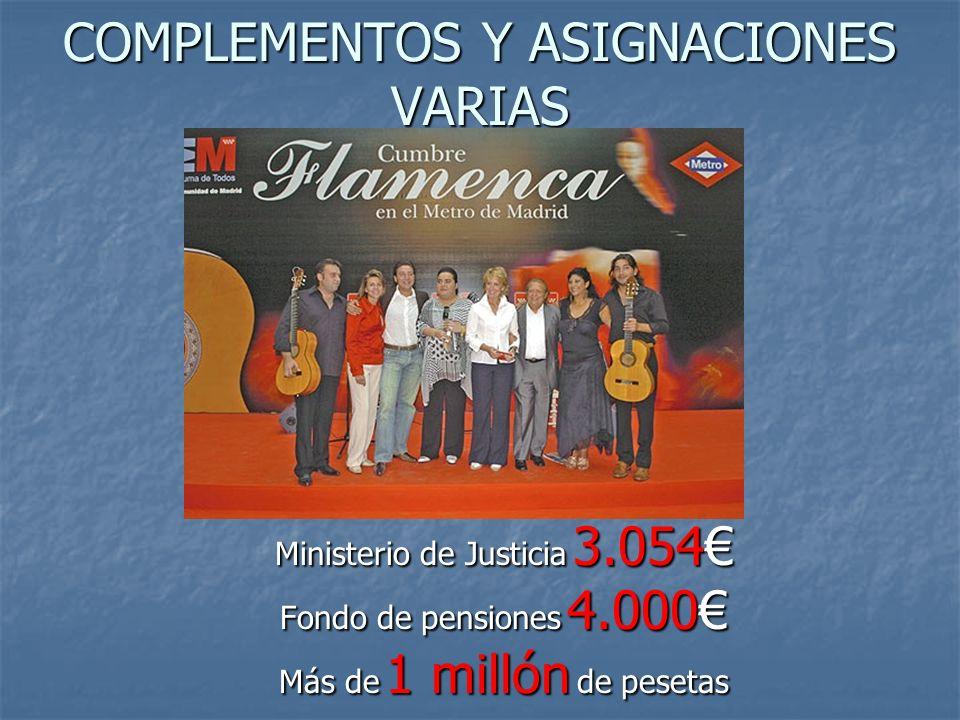 SECRETARIA GENERAL DEL PP 120.000 euros. (Más de 20 millones de pesetas).