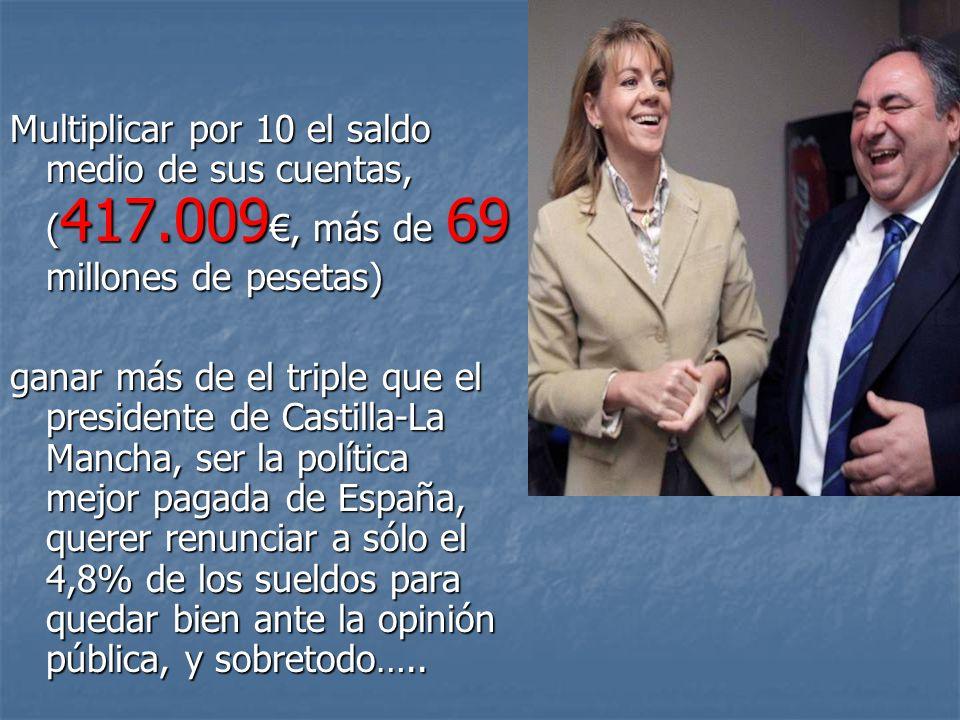 COMPLEMENTOS Y ASIGNACIONES VARIAS Ministerio de Justicia 3.054 Fondo de pensiones 4.000 Más de 1 millón de pesetas