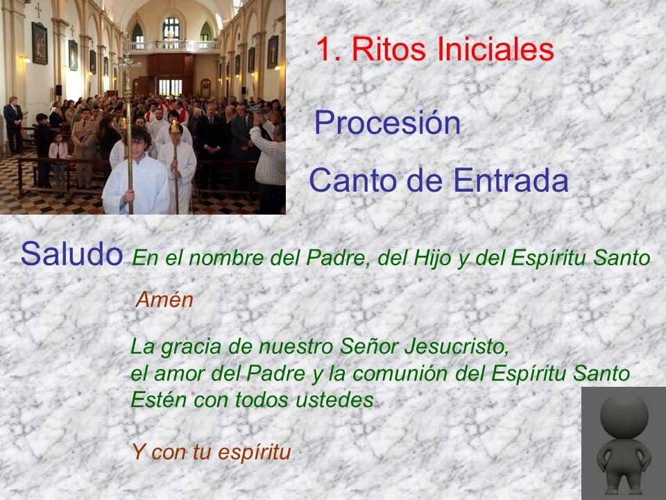 Plegaria Eucarística 3.Liturgia Eucarística El Señor esté con ustedes.