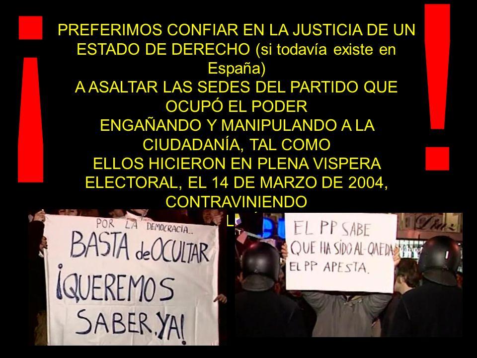 NO QUEREMOS UN GOBIERNO QUE MIENTE, OCULTA Y MANIPULA ¡ !