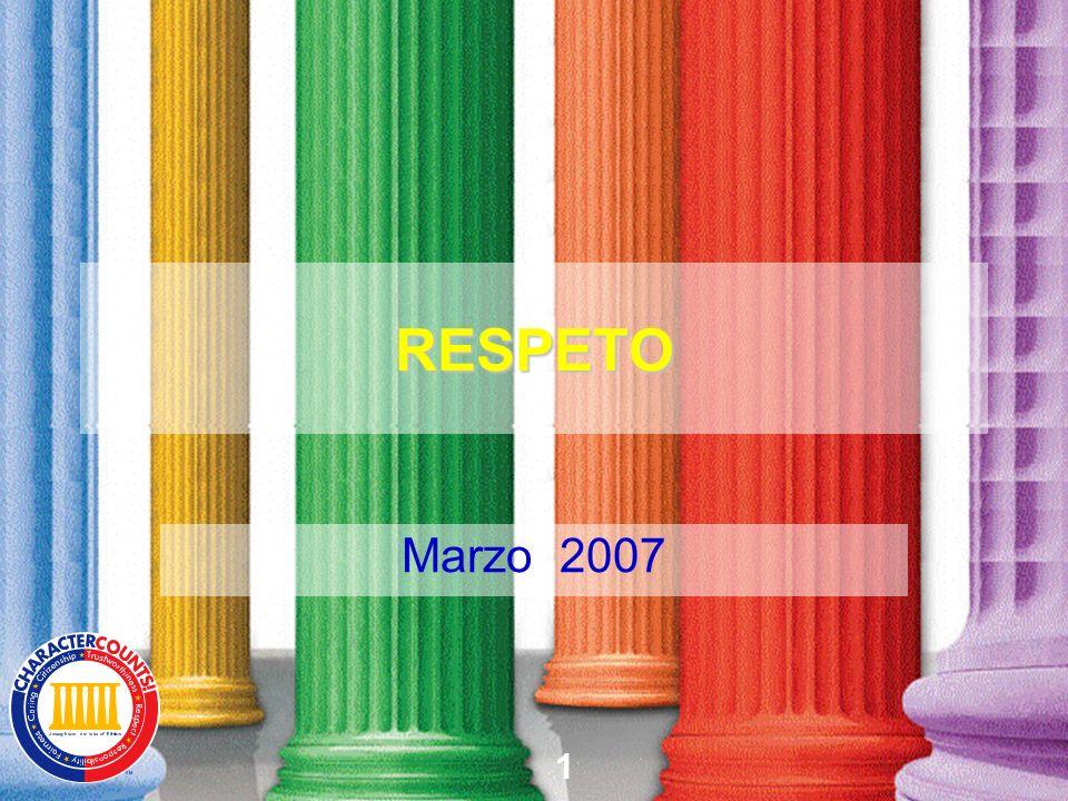 1 RESPETO Marzo 2007