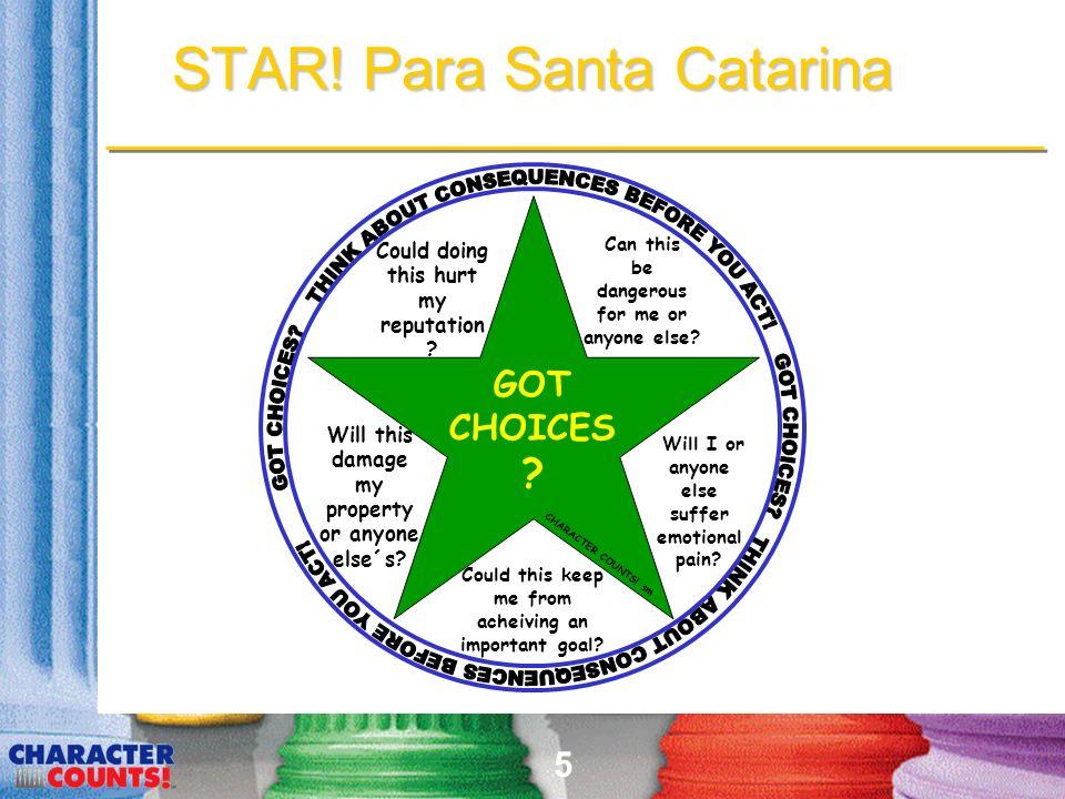 5 STAR.Para Santa Catarina GOT CHOICES . Can this be dangerous for me or anyone else.
