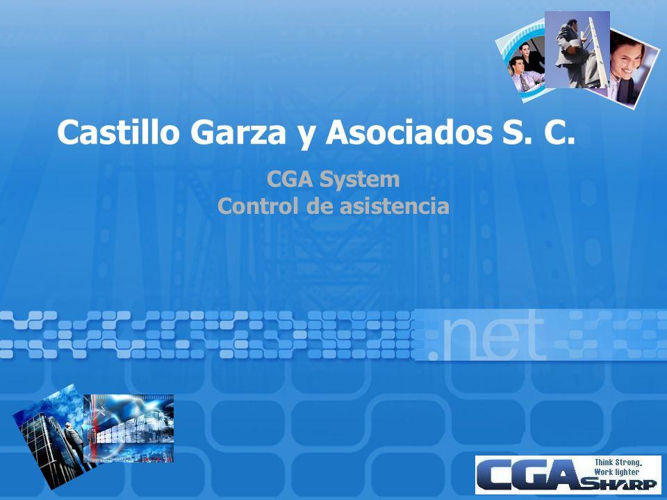 Castillo Garza y Asociados S. C. CGA System Control de asistencia