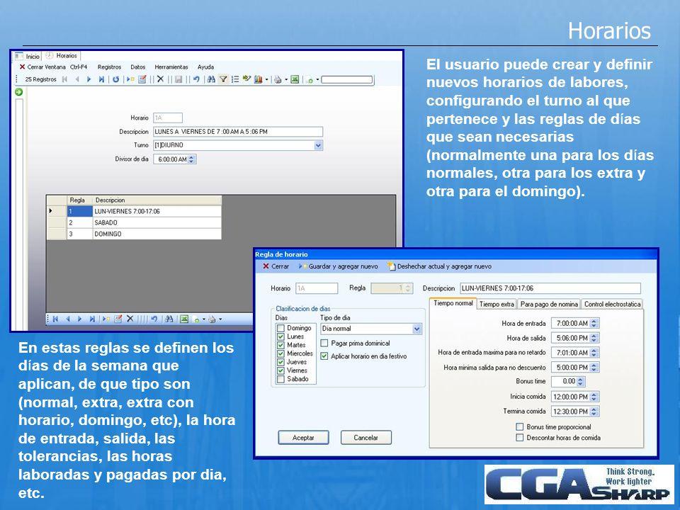 Importación de checadas Es posible importar checadas desde relojes tipo PC o Terminales Linx (previamente dados de alta y configurados).