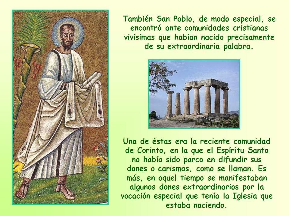 El hecho es que ese cuerpo único que componen los miembros de la comunidad, es verdaderamente el Cuerpo de Cristo.
