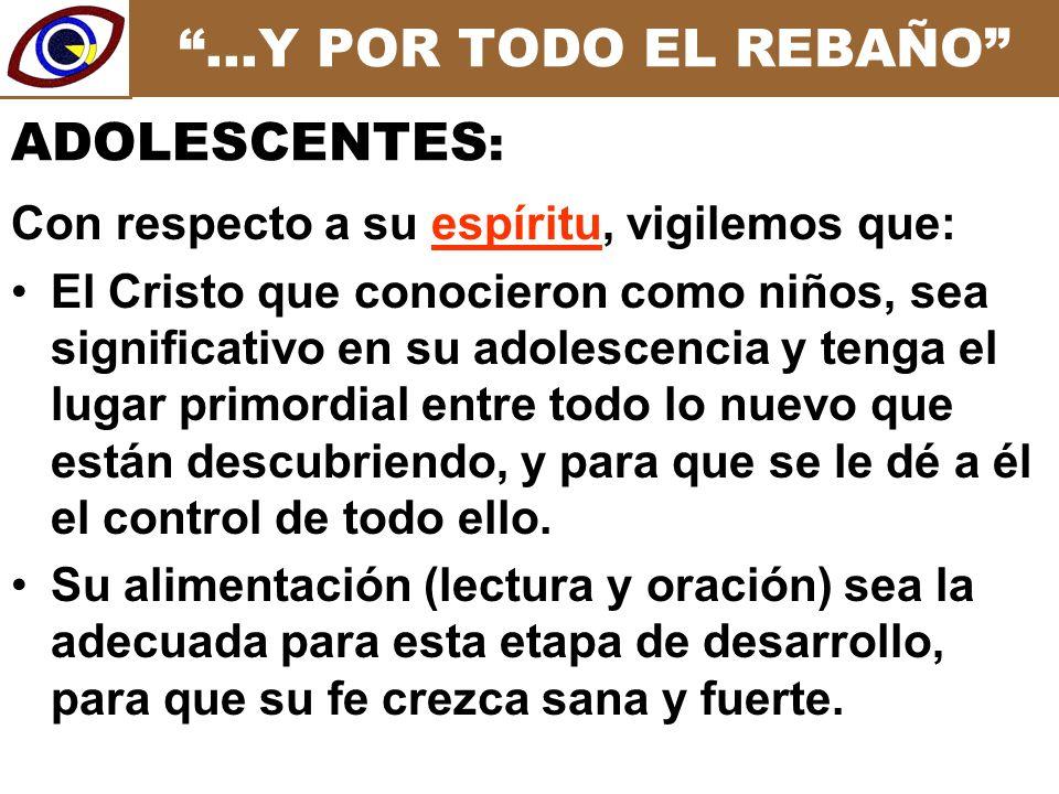 …Y POR TODO EL REBAÑO La búsqueda de CÓNYUGE (amigo/a, novio/a).