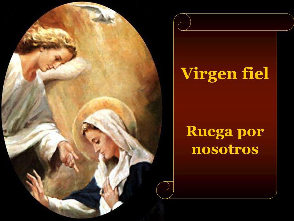 Virgen clemente Ruega por nosotros