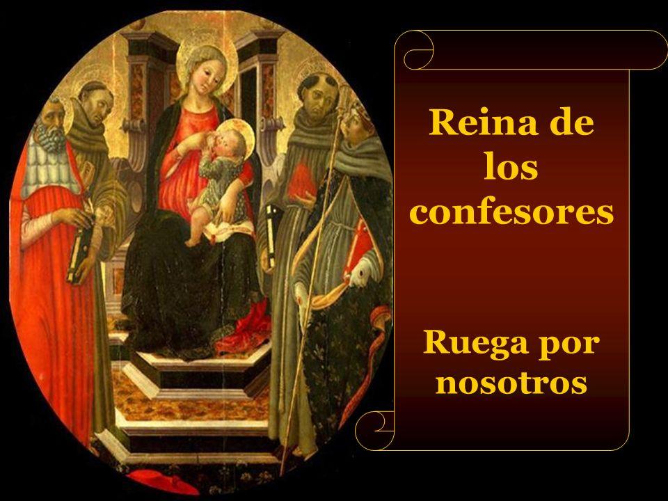 Reina de los mártires Ruega por nosotros