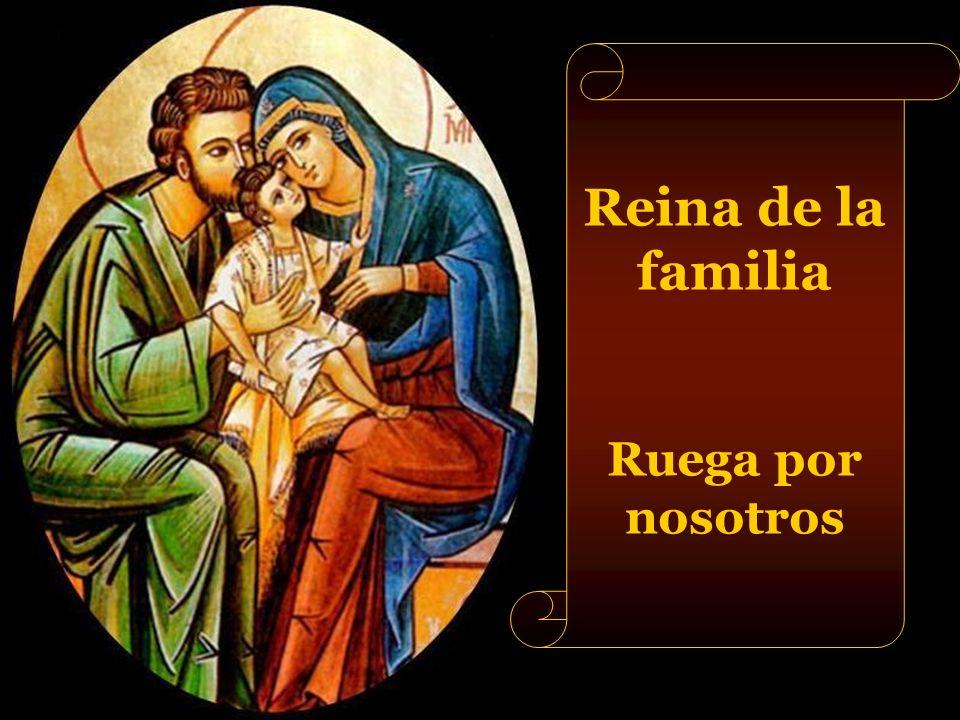 Reina del santísimo Rosario Ruega por nosotros