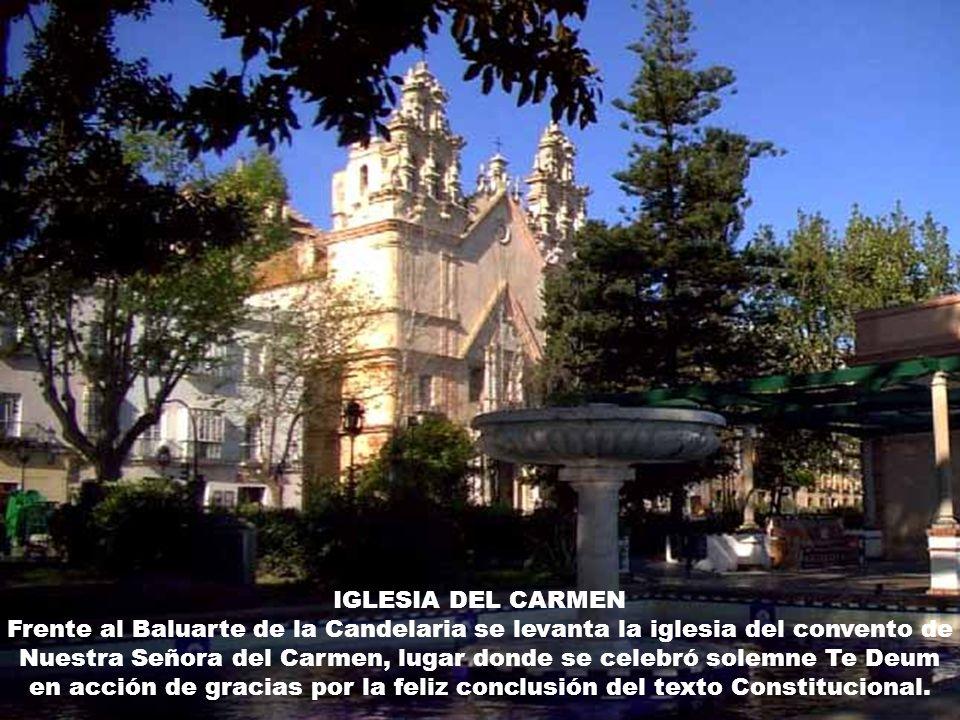 Oratorio de San Felipe Neri, donde se promulgó La Constitución el 19 de marzo de 1812