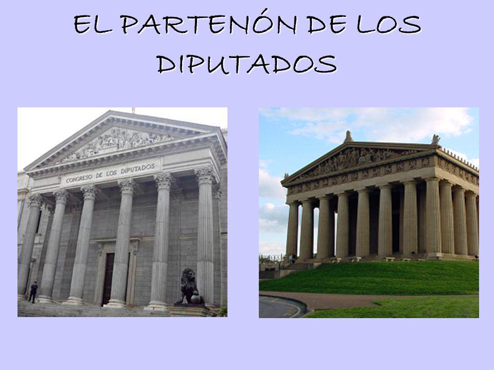 EL PARTENÓN DE LOS DIPUTADOS