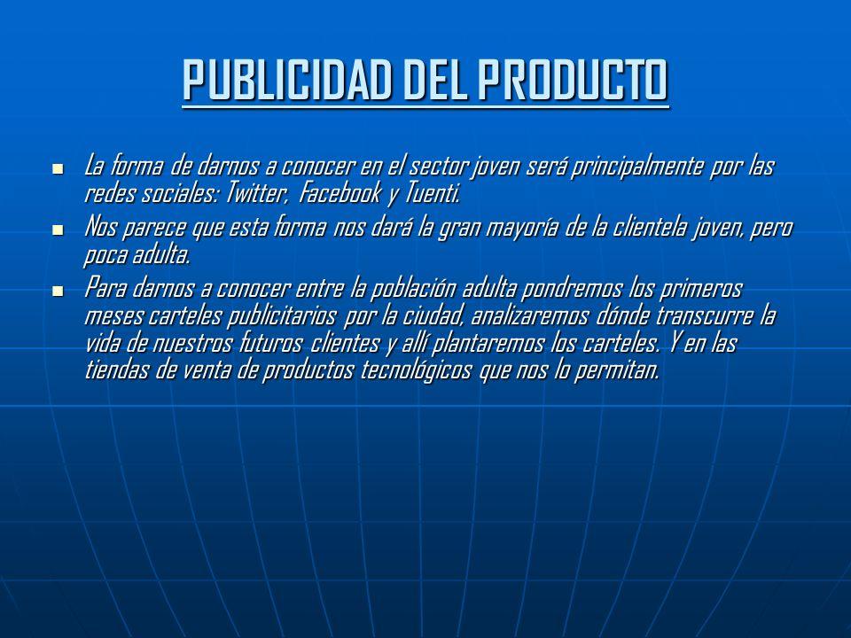 ESTRATEGIA COMPETITIVA La estrategia que hemos elegido es la diferenciación del producto.