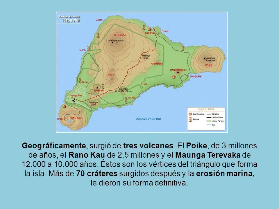 La denominación ancestral de estas tierras fue Te Pito o Te Henua (El Ombligo del Mundo). Su significación refiere a la idea de ser el centro espiritu