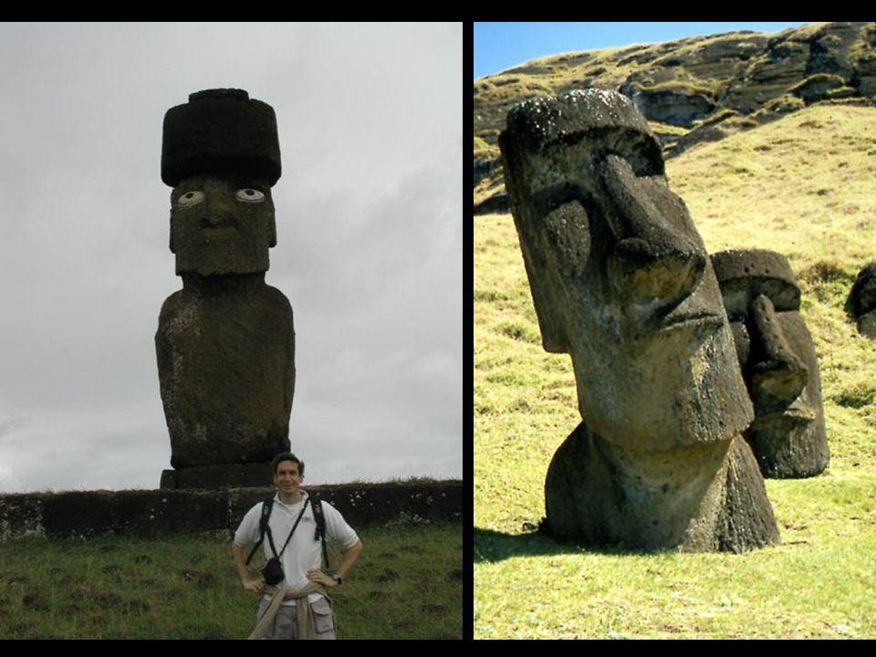¿Por qué fueron creados los moáis? No hay certezas en esta área todavía. Se cree que las estatuas representaban a los antepasados difuntos. Los moáis
