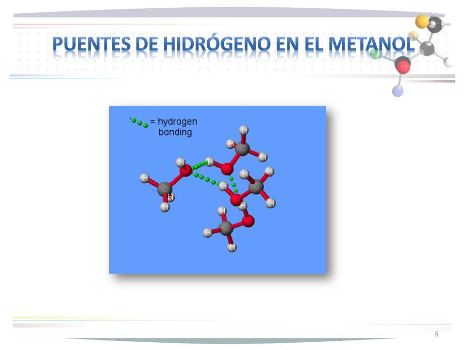 19 El reactivo de Lucas (HCl (c) y ZnCl 2 ) identifica alcoholes terciarios y secundarios.
