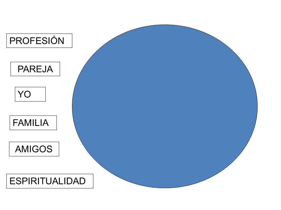 ESPIRITUALIDAD PROFESIÓN PAREJA FAMILIA AMIGOS YO