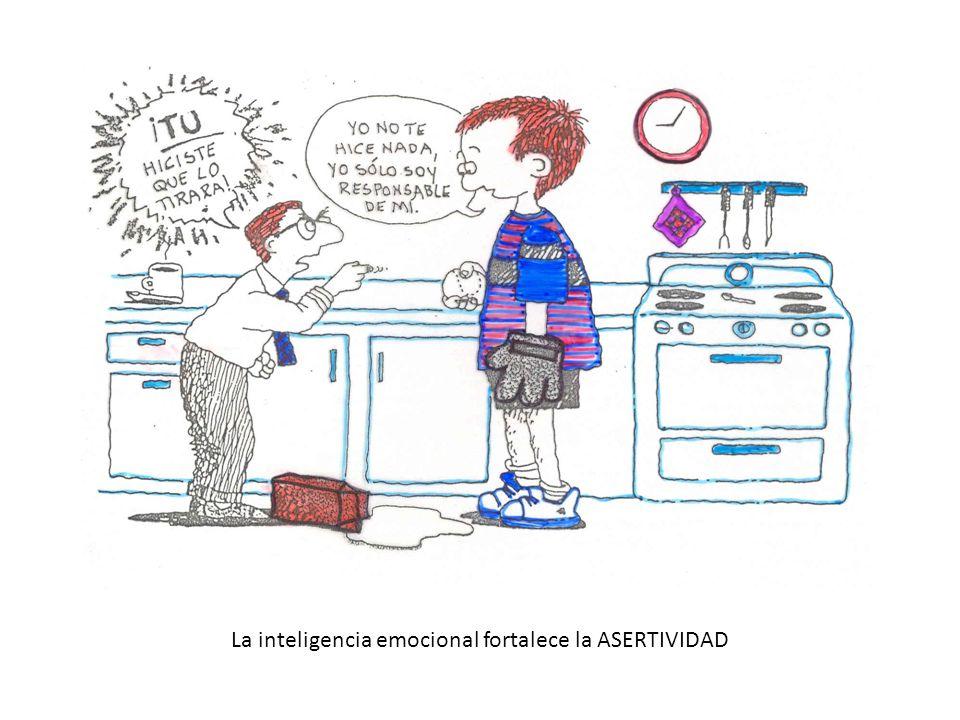 La inteligencia emocional fortalece la ASERTIVIDAD