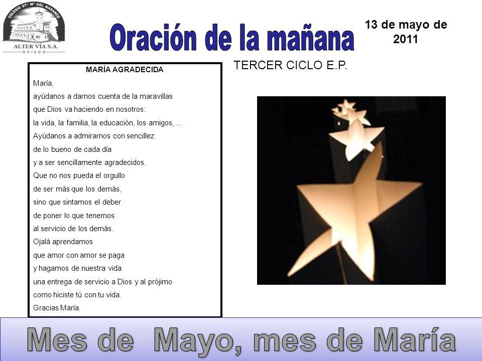 30 de mayo de 2011 TERCER CICLO E.P.