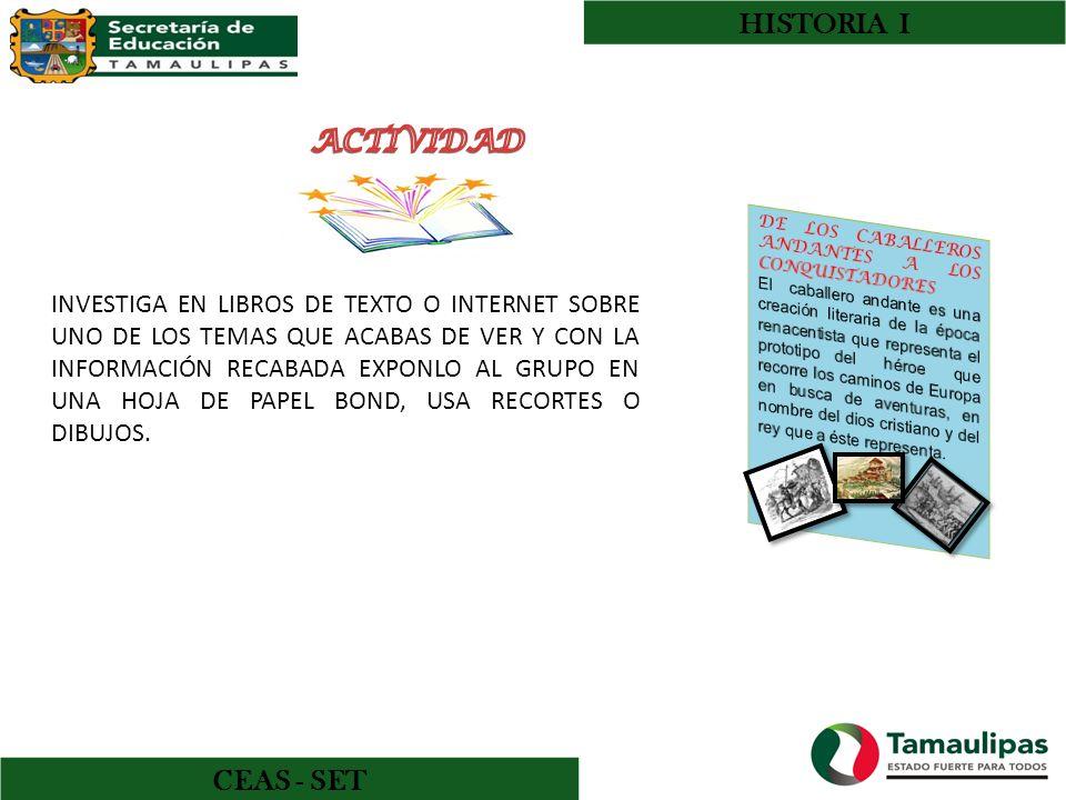 HISTORIA I CEAS - SET GALINDO RICO ROSARIO Y OTROS HISTORIA UNIVERSAL I PRIMERA EDICIÓN ACTUALIZADA 2008.