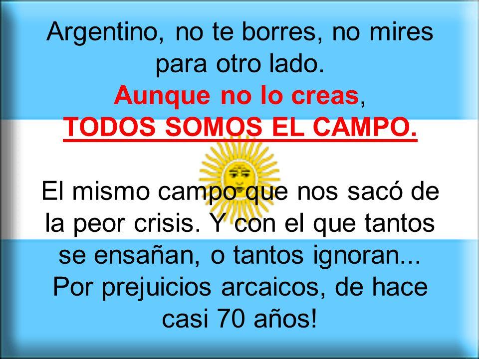 Creímos que los argentinos podemos siempre zafar con esas creencias que sólo existen aquí. Y nuestro nivel va cayendo, año tras año, repitiendo los fe