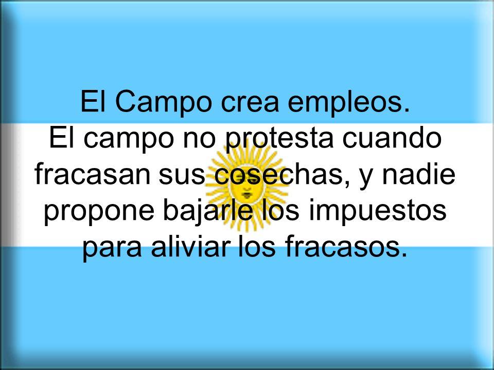 Los productores agropecuarios somos argentinos. No somos enemigos, como te quieren hacer creer.