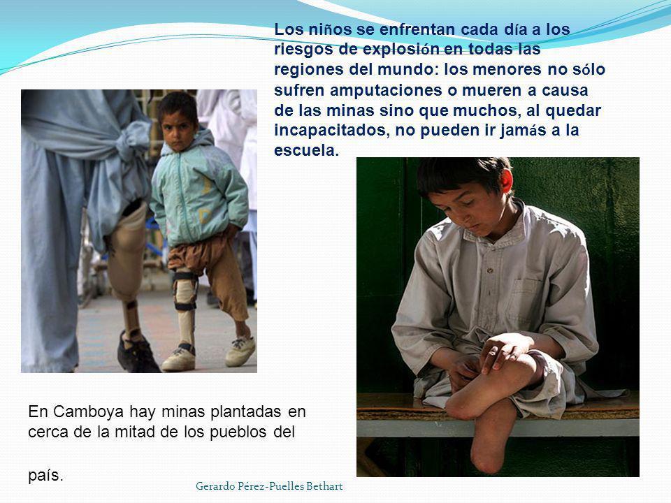 En el D í a Internacional para la Sensibilizaci ó n sobre las Minas, UNICEF se ñ al ó que en 2007, 6.000 personas fueron v í ctimas de estos artefactos y que tres de cada cuatro de ellas eran civiles.