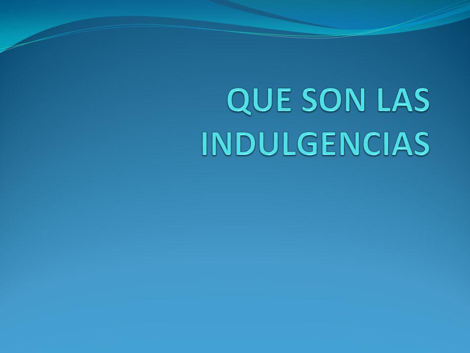 Indulgencia: facilidad de perdonar del latín indulgentia: bondad, benevolencia, gracia, remisión, favor «Facilidad en perdonar o disimular las culpas o en conceder gracias.» (RAE).