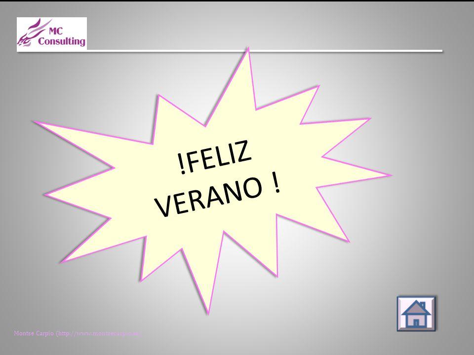 Montse Carpio (http://www.montsecarpio.es) !FELIZ VERANO !