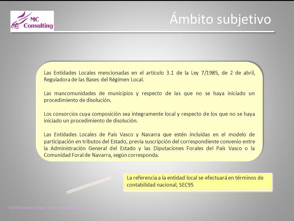 Montse Carpio (http://www.montsecarpio.es) Las Facturas Facturas líquidas, vencidas y exigibles anteriores a 31 de mayo de 2013 Las obligaciones de pago deben estar contabilizadas antes de la entrada en vigor del RDL y por tanto no generaran déficit