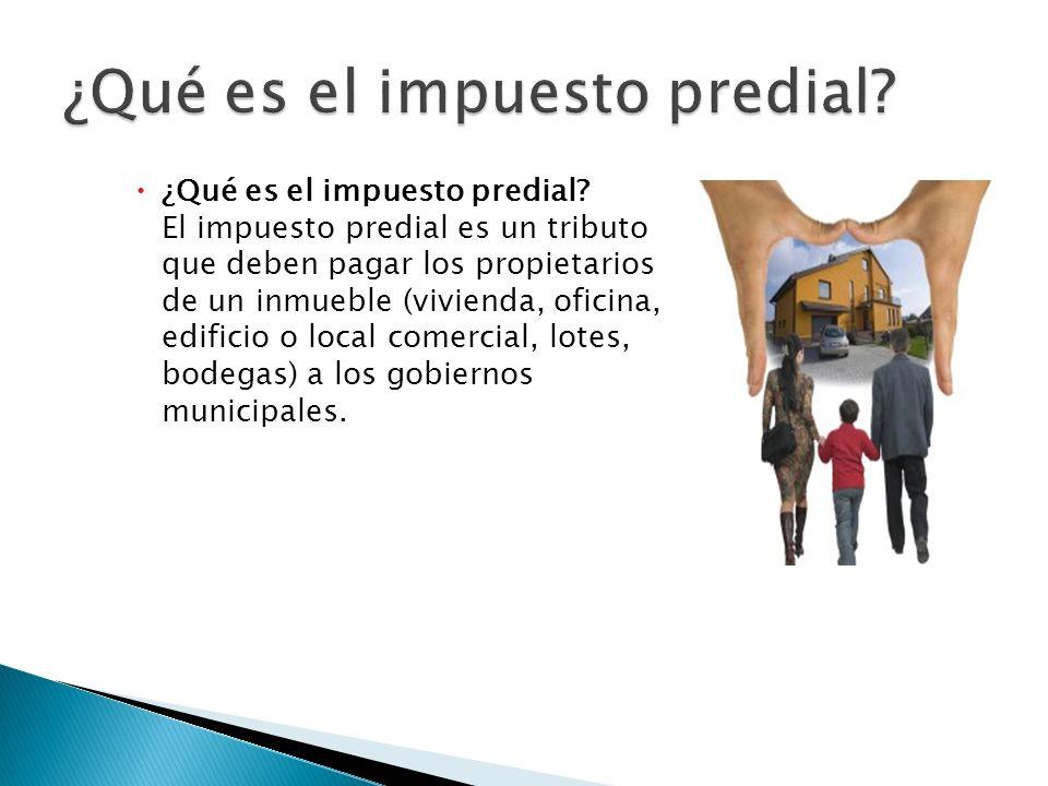 El impuesto predial es un impuesto de carácter municipal que recae exclusivamente sobre bienes raíces ubicados en el territorio nacional cuya administración, recaudo y control corresponde únicamente a los municipios.