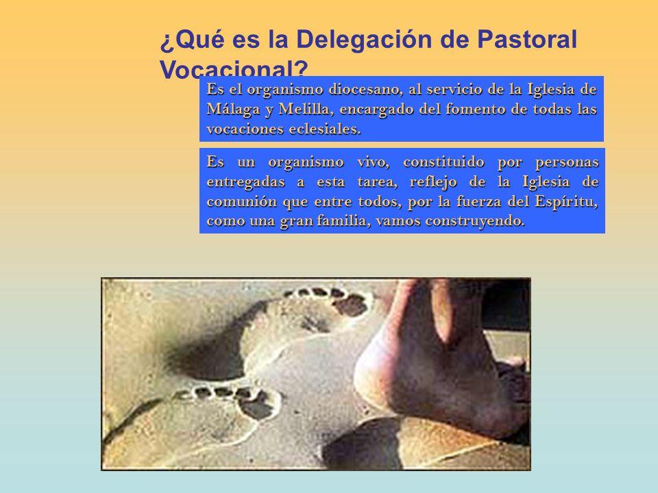 ¿Quién forma la Delegación de Pastoral Vocacional.