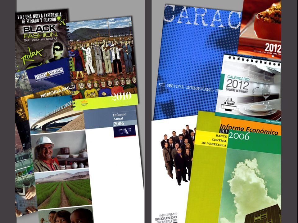 Agendas Anuarios Brochures Calendarios Catálogos Carpetas Informes