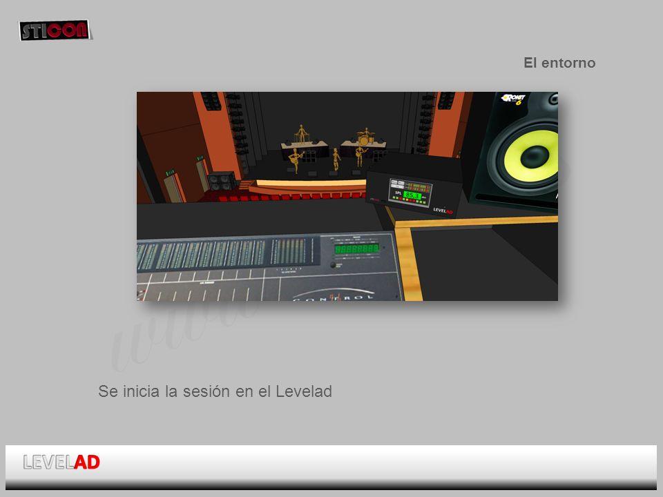 www.sticon.es El entorno Se inicia la sesión en el Levelad