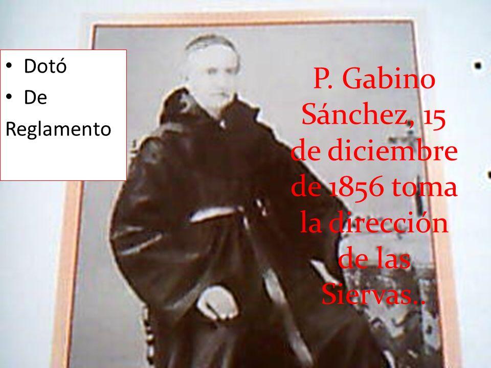 Superiora General Madre Soledad es depuesta de su cargo y enviada a Getafe.