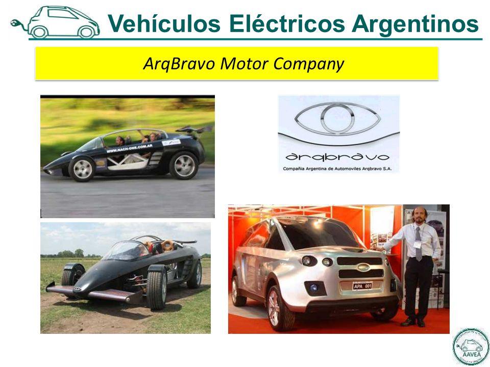 ArqBravo Motor Company Vehículos Eléctricos Argentinos