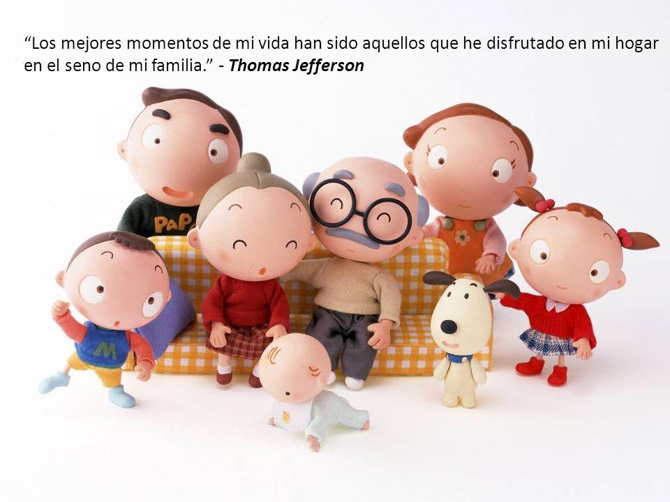 La familia es la unión más estrecha, profunda y santa que existe en la vida del hombre.