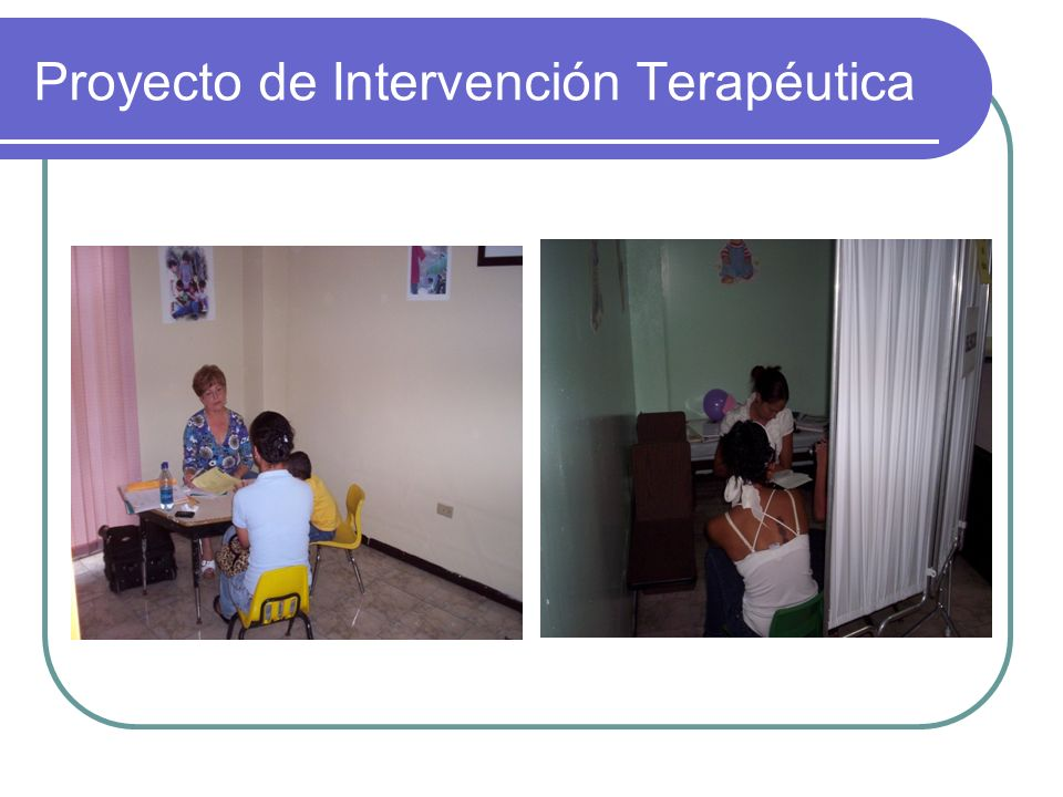 Proyecto de Intervención Terapéutica