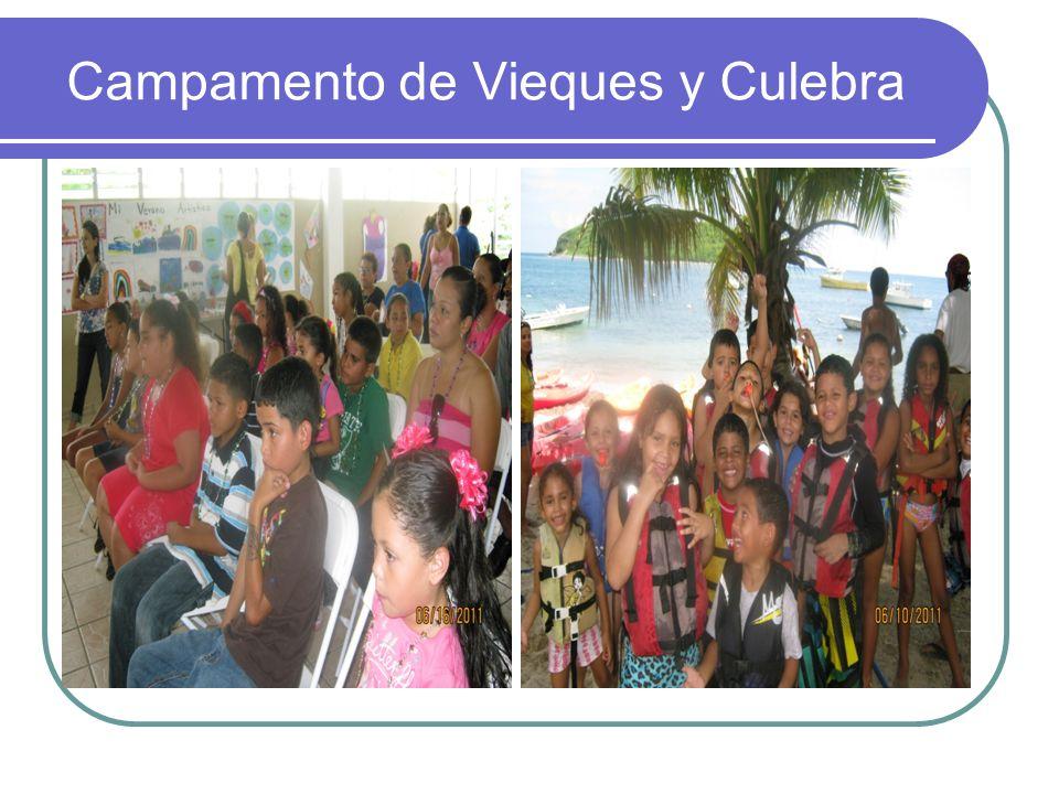 Campamento de Vieques y Culebra