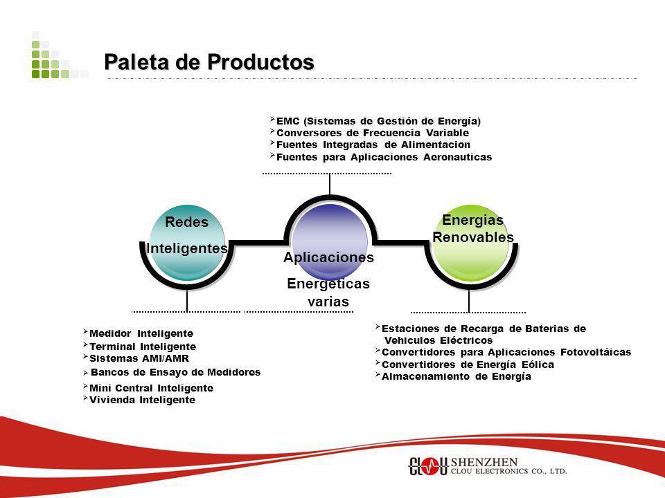 Marketing & Ventas - Exporta a mas de 60 países. - Ventas de mas de 5 milliones de medidores inteligentes. - Ubicada entre los tres mayores fabricante