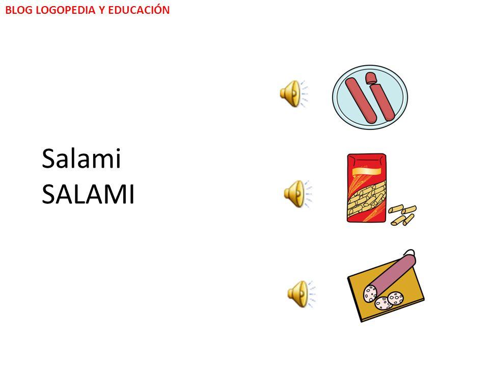 BLOG LOGOPEDIA Y EDUCACIÓN Macaroni MACARONI