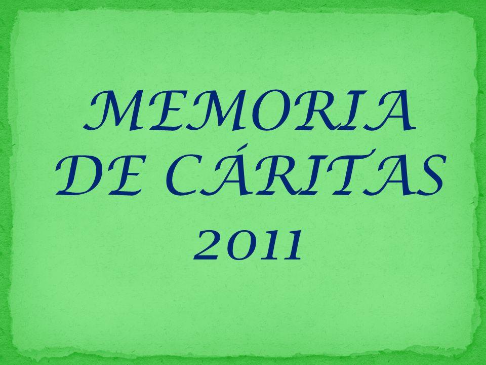 MEMORIA DE CÁRITAS 2011