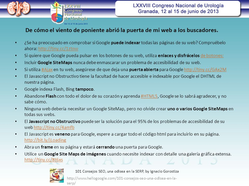 ¿Se ha preocupado en comprobar si Google puede indexar todas las páginas de su web.