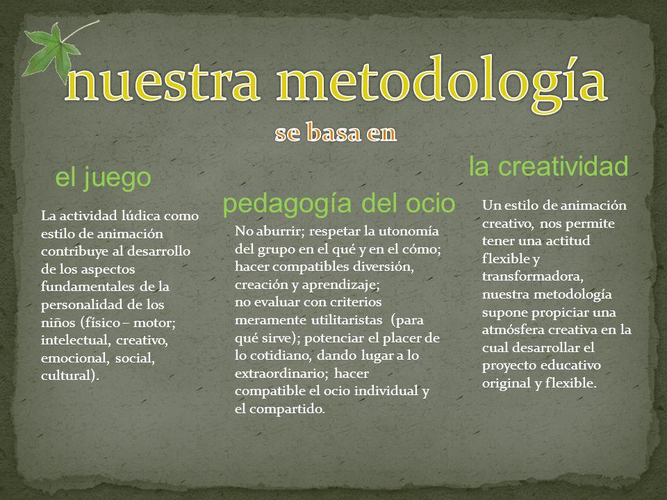 La actividad lúdica como estilo de animación contribuye al desarrollo de los aspectos fundamentales de la personalidad de los niños (físico – motor; intelectual, creativo, emocional, social, cultural).